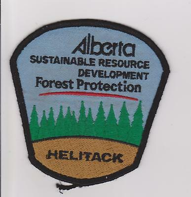 Alberta Forest Protection Helitack Forest Ranger Forest Fire Police Patch