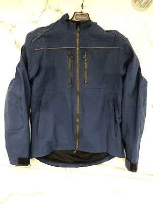 AETHER Canyon Motorcycle Jacket Total Eclipse Blue