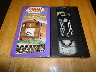 Thomas The Tank Engine And Friends - Thomas' Trackside Tunes (VHS, 2001) Kids