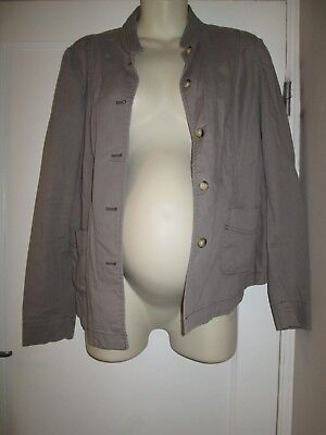 Lovely Size 14 Gap Maternity Jacket See Pics!!