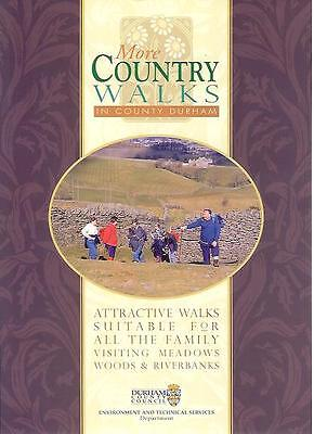 Country walks County Durham 2x A5 pamphlet wallets 1997 Weardale Auckland Castle