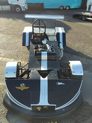 Classic race car clubmans historic single seater Ford crossflow