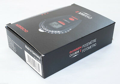 Gossen Digisix 2 Exposure Meter Boxed Mint