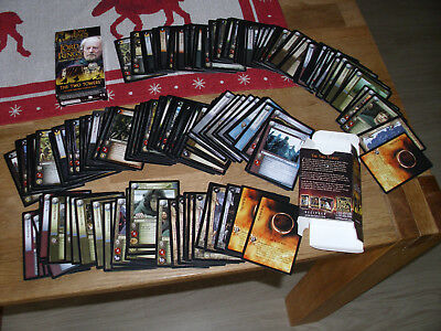 169 Karten Lord of the Rings - Two Towers Theoden Starter Deck Trading Card Game