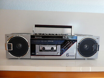 SANYO M 7735 M 7740 Boombox Ghettoblaster stereo new in box