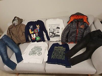 Boy's Designer Mayoral, 3pommes, Gaultier, ZARA, H&M Clothes Bundle 7 - 8 Years