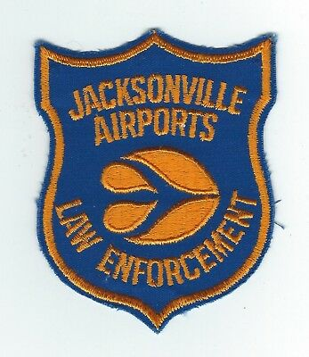 VINTAGE JACKSONVILLE, FLORIDA AIRPORTS LAW ENFORCEMENT (CHEESE CLOTH BACK) patch