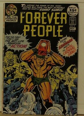 dc comic forever people #5 1971