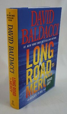 """Long Road to Mercy"" by David Baldacci Brand New SIGNED 2018 First Edition"