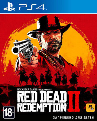 #NEW# Red Dead Redemption 2 [PS4, Playstation 4, 2018]  English/Russian RDR 2
