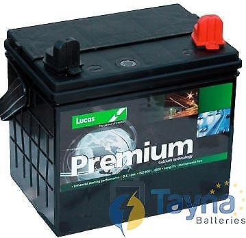 895 Lucas Lawnmower Batterie 12V 30Ah