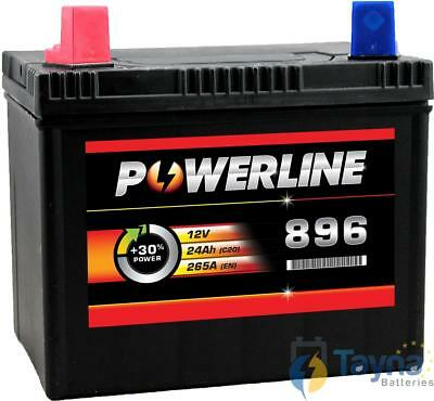 896 Powerline Lawnmower Batterie 12V