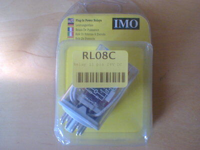 Imo Rl08C Relay 11 Pin 24V Dc (Rs3Pn24Dc)
