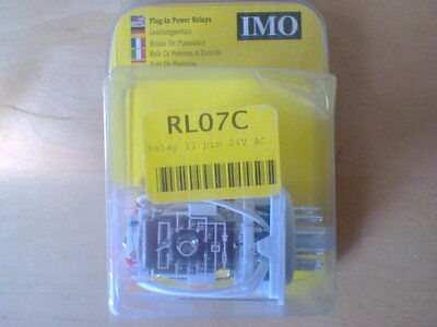 Imo Rl07 Relay 11 Pin 24V Ac  (Rs3Pn24Ac)