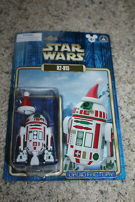 2015 Disney Parks Star Wars Droid Factory R2-H15 Christmas Holiday -Not Mint
