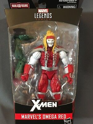 "Omega Red 6"" Inch Marvel Legends with Sauron BAF NEW"