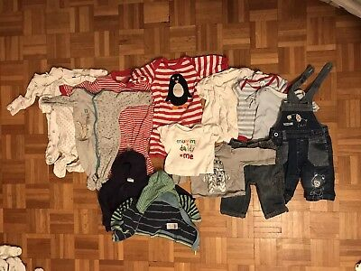 Large Baby Boy's Bundle  - 0-3 Months