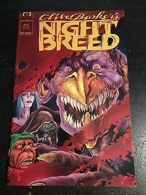 Clive Barker's Night Breed#5 Incredible Condition 9.4(1990)