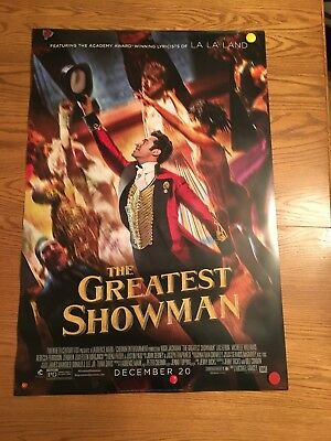 THE GREATEST SHOWMAN (2017) - POSTER 27x40 DS ORIGINAL