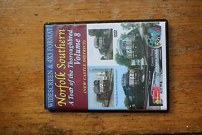 Norfolk Southern DVD A Tour of The Thoroughbred Volume 8 Green Frog Productions