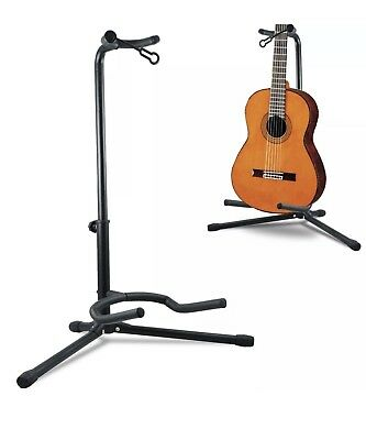 Telescopic Guitar Stand Acoustic Electric Bass Adjustable Folding Tripod Stand