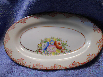 Vintage Made In Japan Porcelain Dish Hand Painted