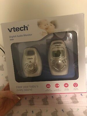 Vtech Safe & Sound Digital Audio Baby Monitor DM223 New But opened box