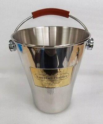 Stunning New Laurent Perrier Champagne - Stainless Steel Ice Bucket - Cooler