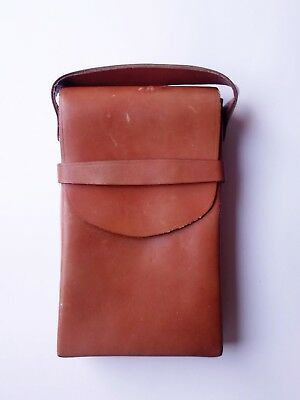 Vintage 1970's Polaroid Sx-70 Land Camera Leather Carrying Case