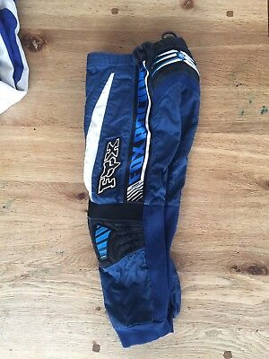 Youth Fox 180 Motorcross Dirt bike Racing Pants Size 8/24