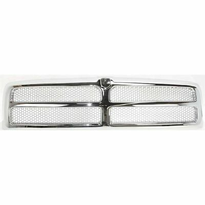 New Front Honeycomb Chromed Grille For Dodge Ram 2500 1994-2002 CH1200178