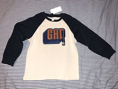 NWT Baby Gap Boys Long Sleeve Cotton Top Shirt Tee 5 Years SELLING TONS!