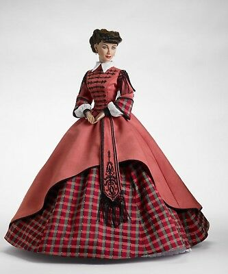 "Tonner Vinyl Doll Scarlett Mrs. Kennedy Gone With The Wind 16"" RARE! REDUCED!!"