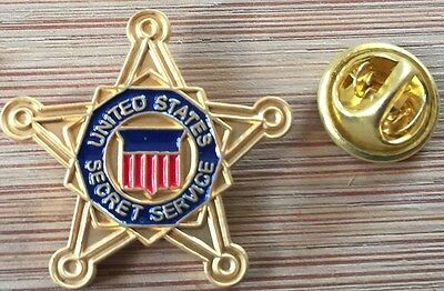 USSS - United States Secret Service - FIVE POINT STAR - BADGE lapel pin