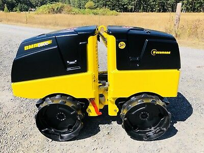*2013*  BOMAG BMP 8500 TRENCH ROLLER, VIBRATORY, COMPACTOR ,Expandable, NICE
