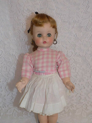 """Vintage Doll Madame Alexander Edith, The Lonely Doll Original Tag 15"""" Kelly"""