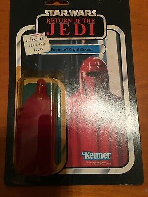 Vintage Star Wars Emporers Royal Kenner Return of the Jedi  65 back  Clean Nice