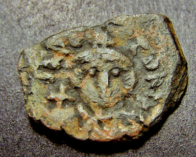MAURICE TIBERIUS, Christian Crosses in Constantinople, Byzantine Emperor M Coin