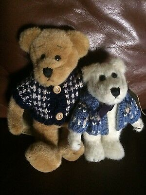 Boyds Bears Investment Collectibles Animal Wears Cardigan & Hans Q.berriman Nwt