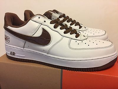 on sale 3ee13 530dd Nike Air Force 1 NYC Croc Euro 2003 Sz 12 Wht Bison PRE OWNED EXCELLENT
