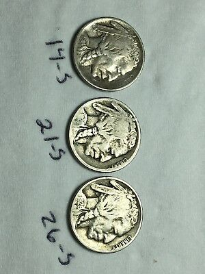 1914-s 1921-s 1926-s Buffalo Indian Nickels