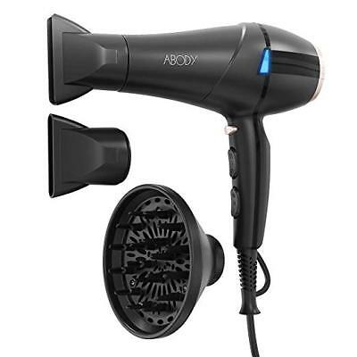 Hair Dryer 1875W, Professional Ionic Blow Dryer with Concentrators & Diffuser fo