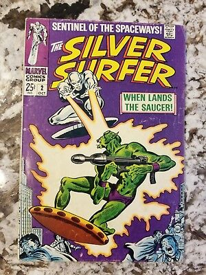 Silver Surfer #2 1st Appearance of Badoon Beautiful Book