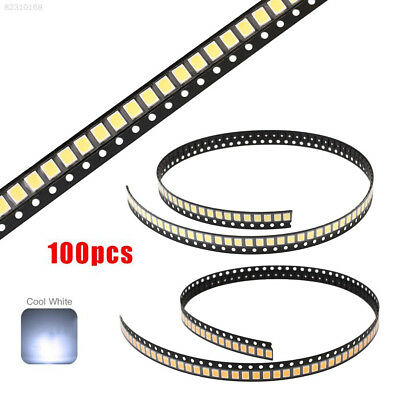 F94A 100pcs SMD SMT LED 0603 White Light Luminous Emitting Diode 1.6x0.8x0.4mm