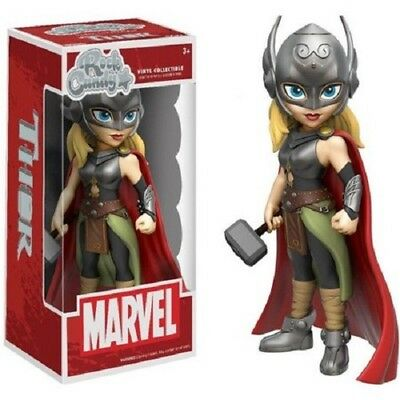 Marvel: Lady Thor Funko Rock Candy Vinyl Figure stands 5.5 inches tall (new)