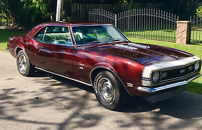 1968 Chevrolet Camaro SS 1968 Camaro Numbers Matching Complete Restoration True SS
