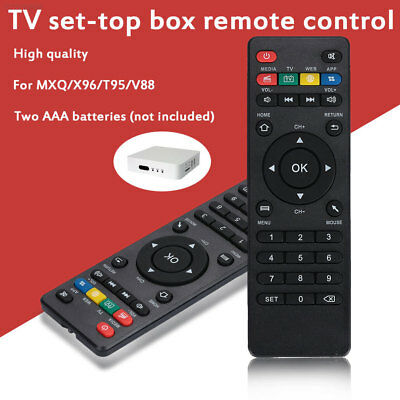 7F4B D261 Remote Controller for X96 Computer Black Android Wireless TV Remote