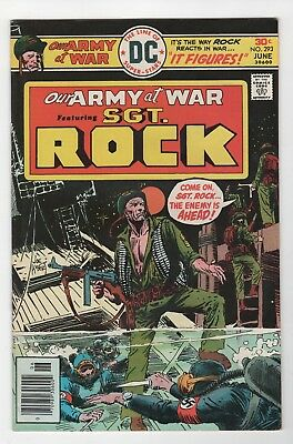 Our Army At War #293 In Very Fine/Near Mint Condition (June, 1976, DC)