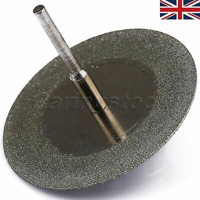 Diamond Cut Off Disc Wheel Grinding Blade 50mm & Mandrel For Rotary Tool