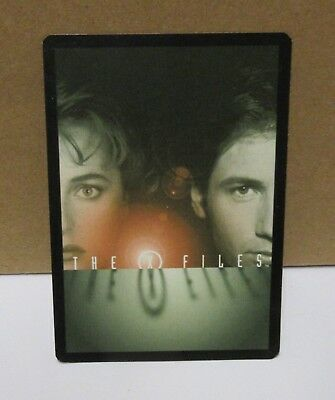1996 X-Files Game Card
